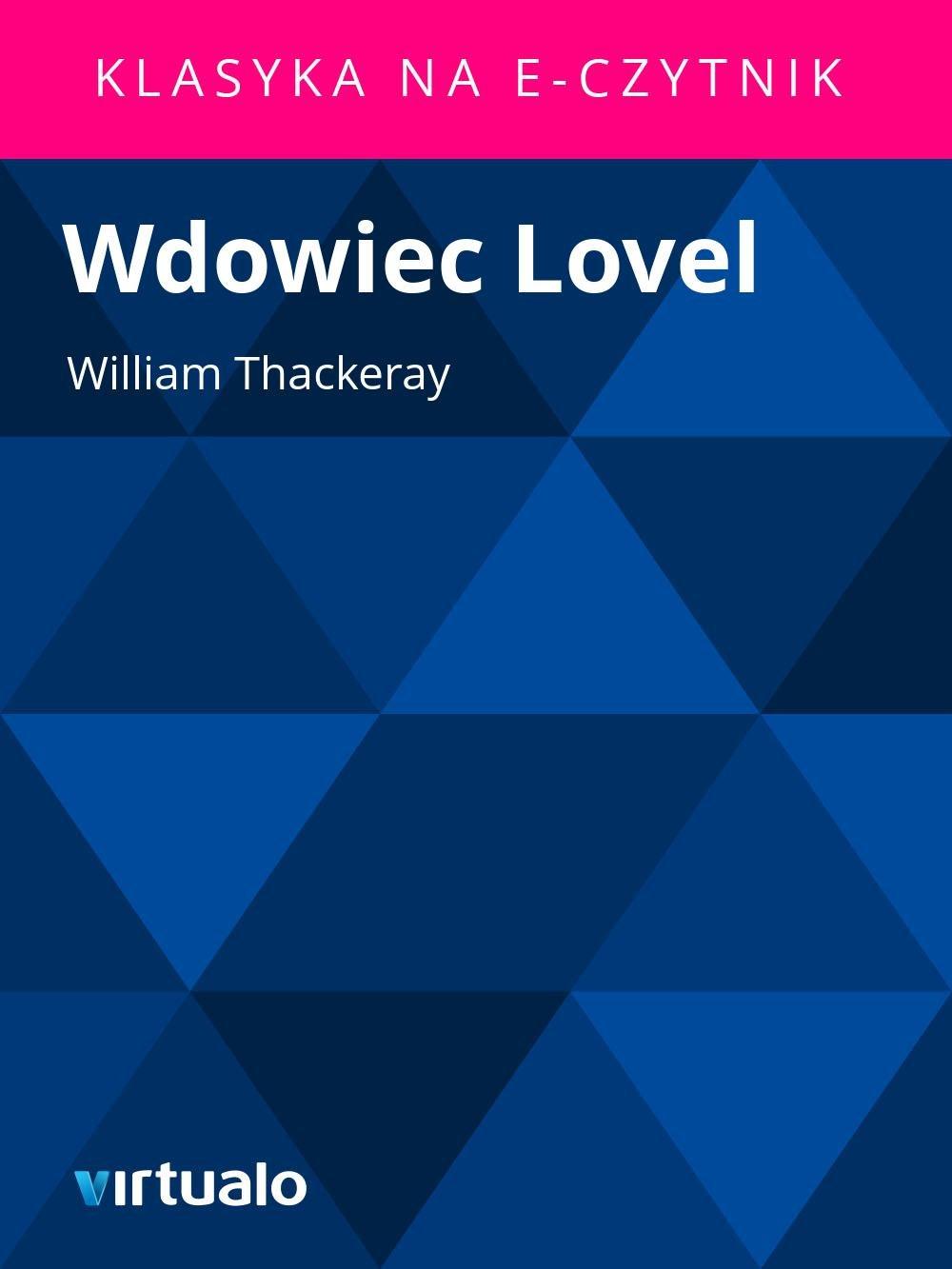 Wdowiec Lovel - Ebook (Książka EPUB) do pobrania w formacie EPUB