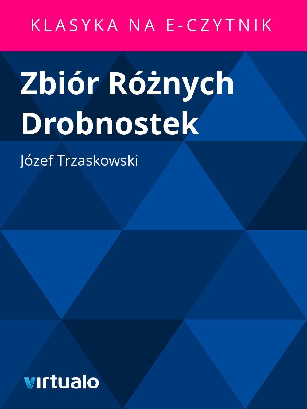Zbiór Różnych Drobnostek - Ebook (Książka EPUB) do pobrania w formacie EPUB