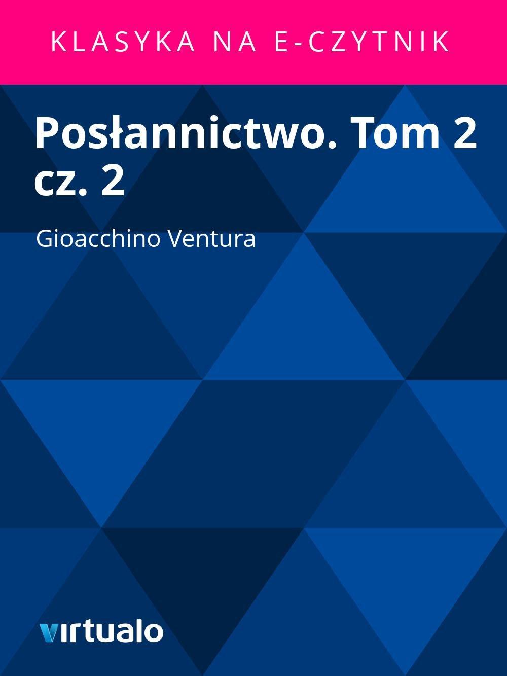 Posłannictwo. Tom 2 cz. 2 - Ebook (Książka EPUB) do pobrania w formacie EPUB