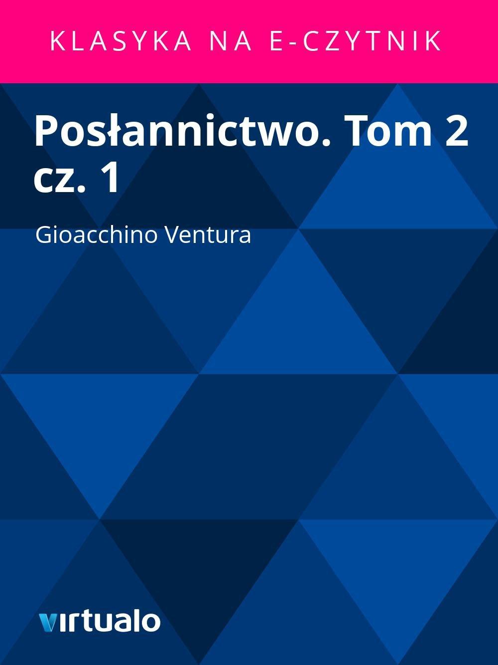 Posłannictwo. Tom 2 cz. 1 - Ebook (Książka EPUB) do pobrania w formacie EPUB