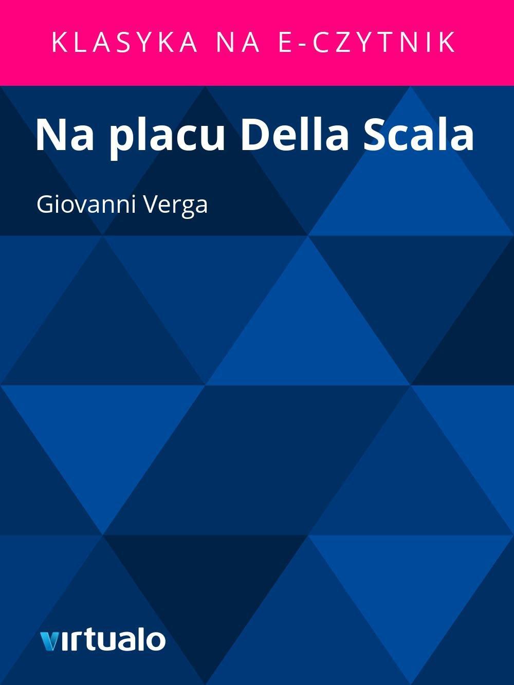 Na placu Della Scala - Ebook (Książka EPUB) do pobrania w formacie EPUB