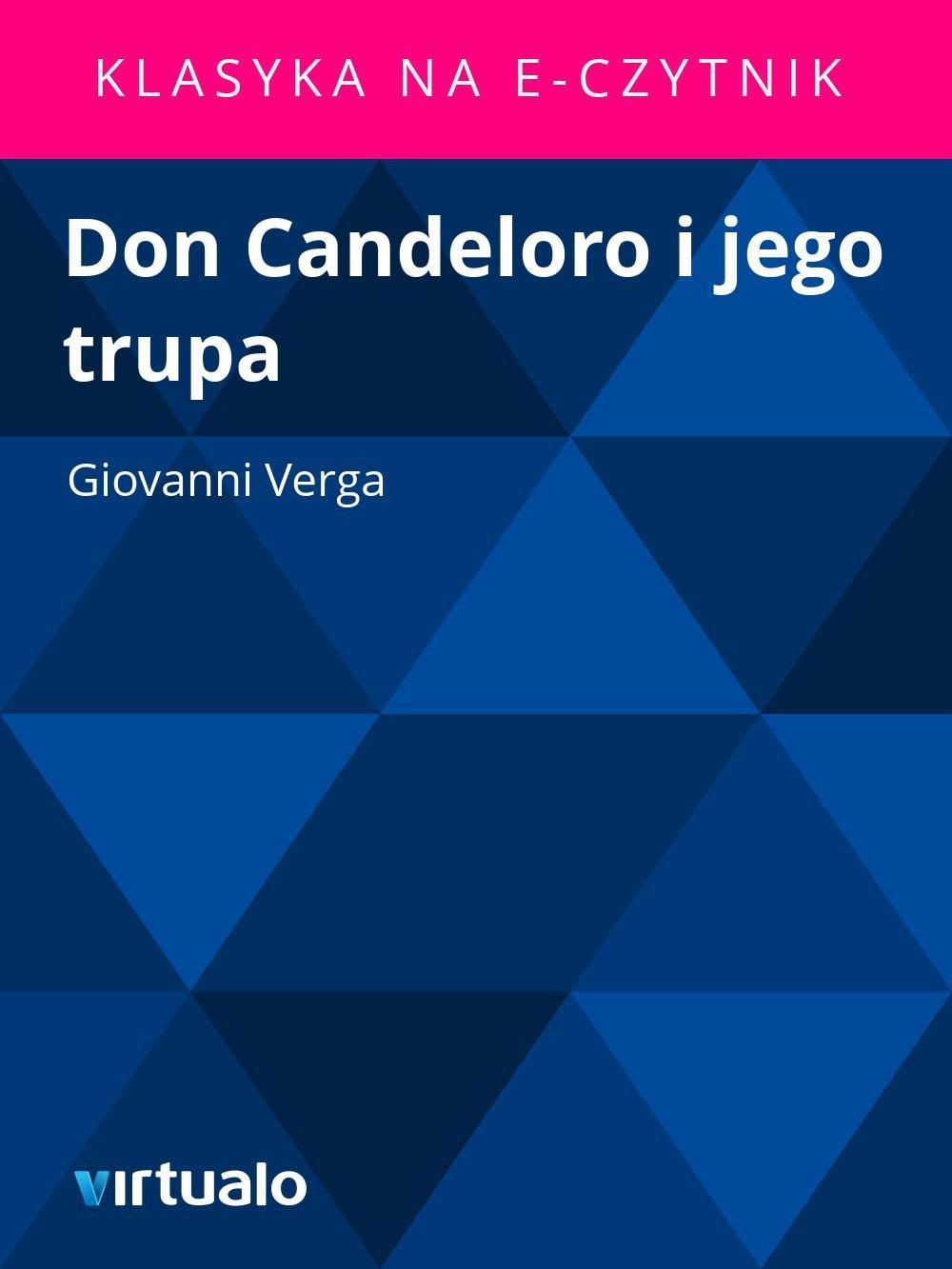 Don Candeloro i jego trupa - Ebook (Książka EPUB) do pobrania w formacie EPUB