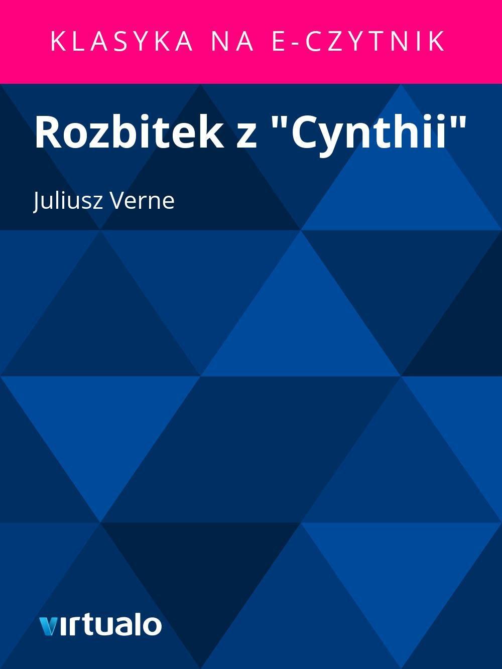 """Rozbitek z """"Cynthii"""" - Ebook (Książka EPUB) do pobrania w formacie EPUB"""