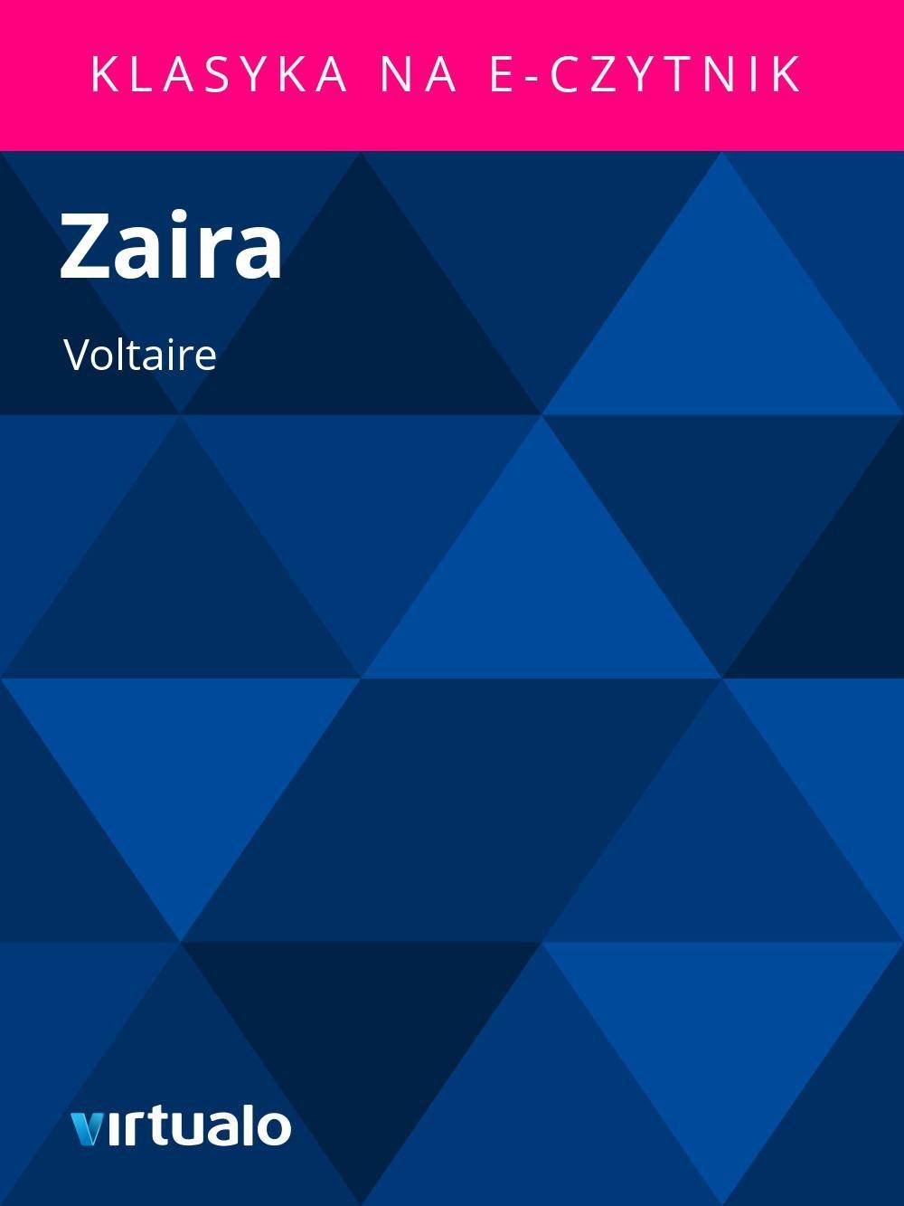 Zaira - Ebook (Książka EPUB) do pobrania w formacie EPUB