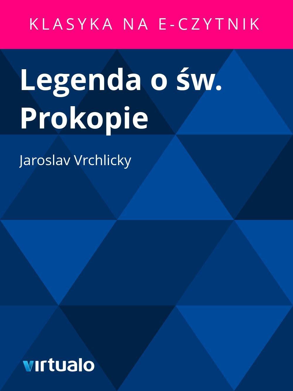 Legenda o św. Prokopie - Ebook (Książka EPUB) do pobrania w formacie EPUB