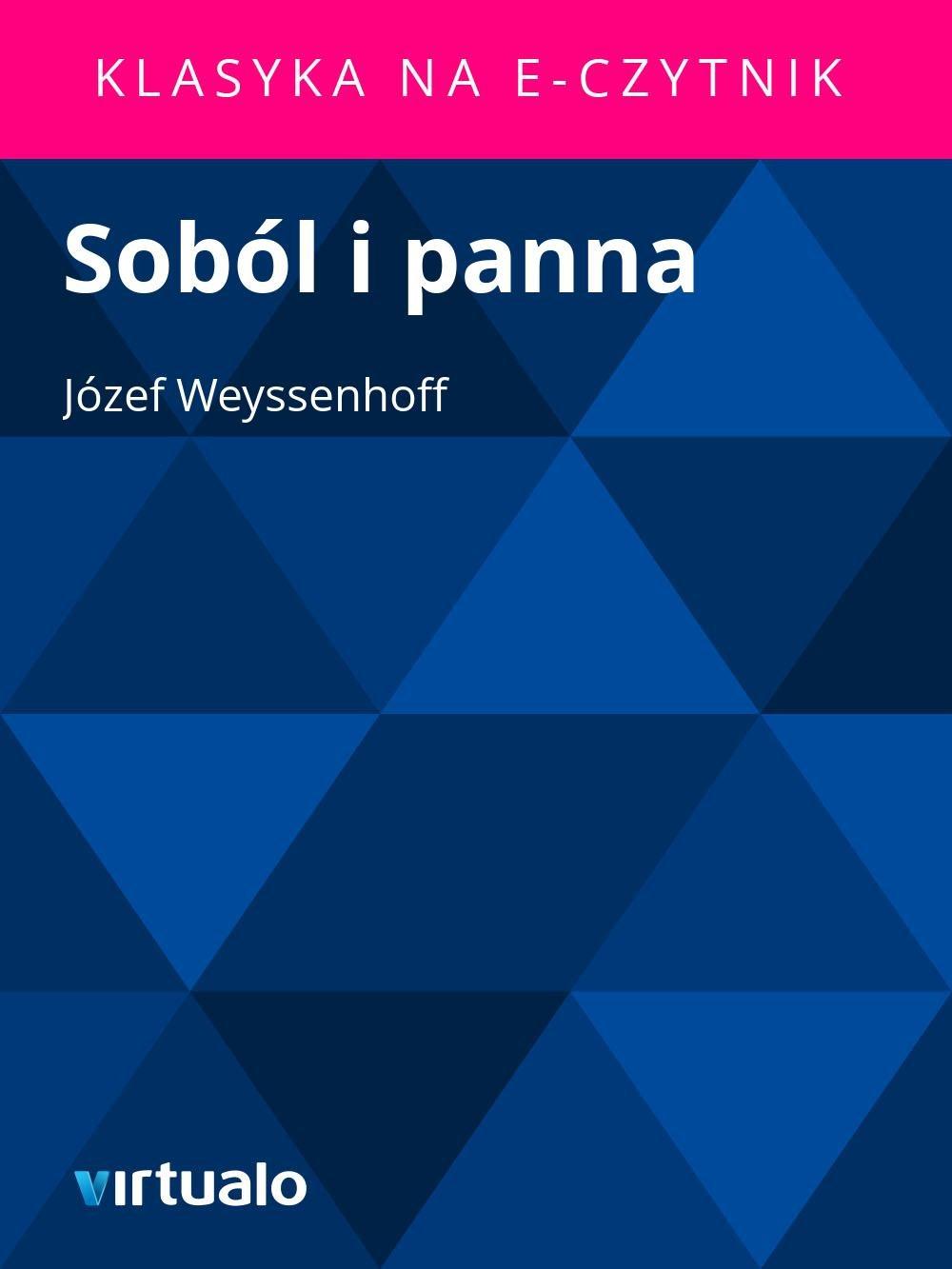 Soból i panna - Ebook (Książka EPUB) do pobrania w formacie EPUB