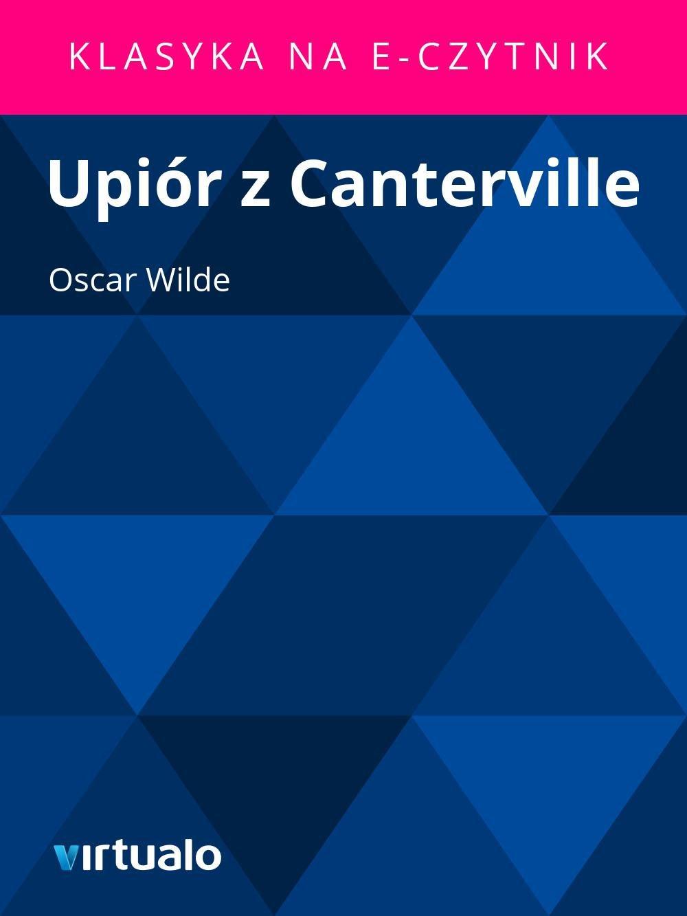 Upiór z Canterville - Ebook (Książka EPUB) do pobrania w formacie EPUB