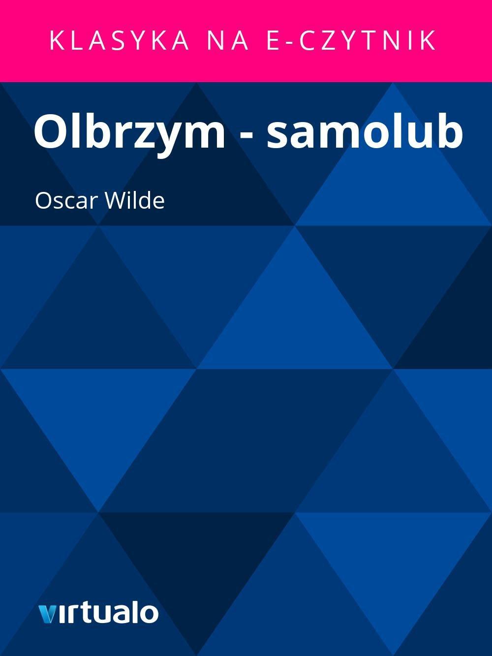 Olbrzym - samolub - Ebook (Książka EPUB) do pobrania w formacie EPUB
