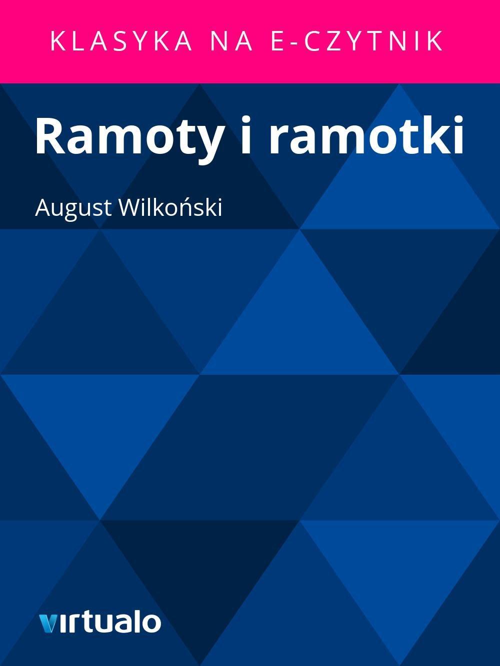 Ramoty i ramotki - Ebook (Książka EPUB) do pobrania w formacie EPUB
