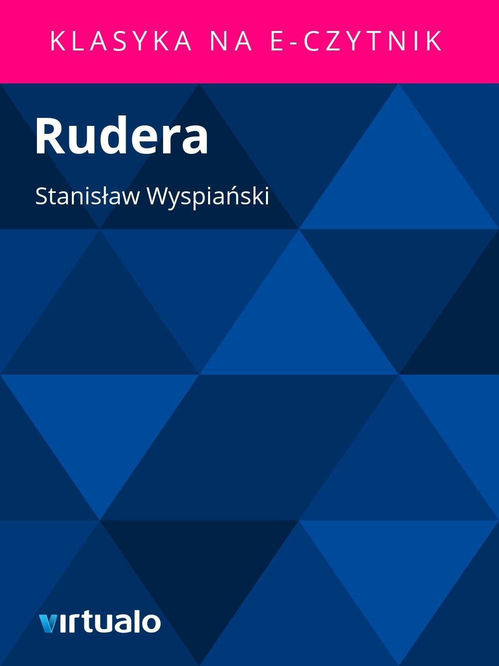 Rudera - Ebook (Książka EPUB) do pobrania w formacie EPUB