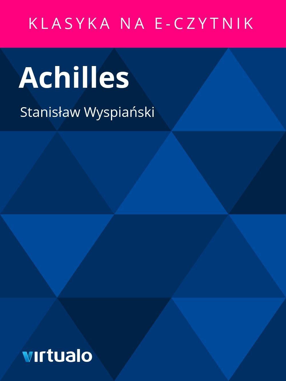Achilles - Ebook (Książka EPUB) do pobrania w formacie EPUB
