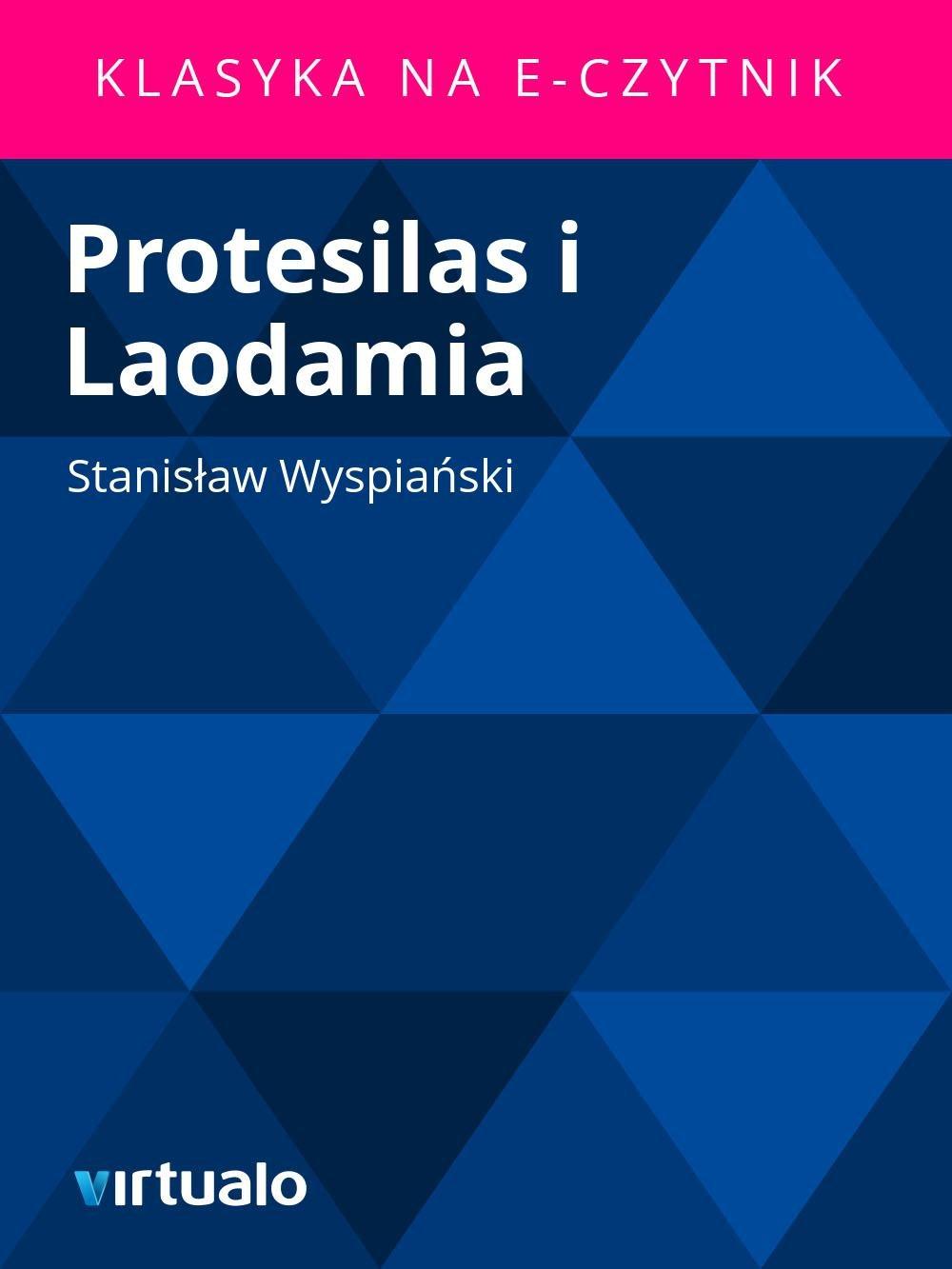 Protesilas i Laodamia - Ebook (Książka EPUB) do pobrania w formacie EPUB