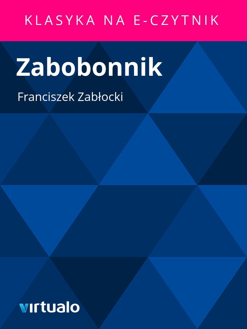 Zabobonnik - Ebook (Książka EPUB) do pobrania w formacie EPUB