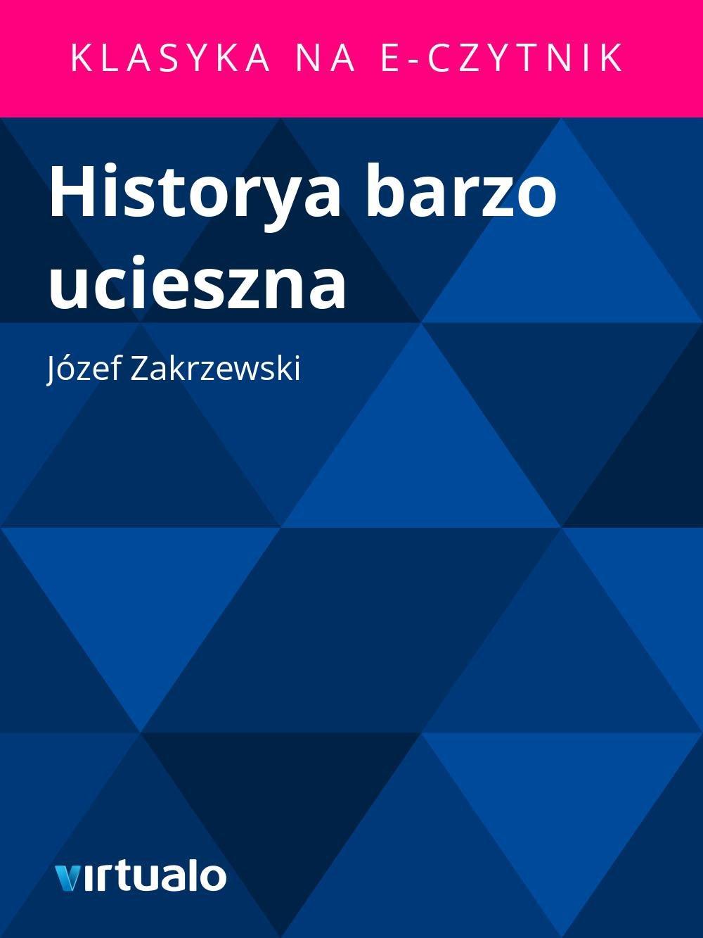 Historya barzo ucieszna - Ebook (Książka EPUB) do pobrania w formacie EPUB