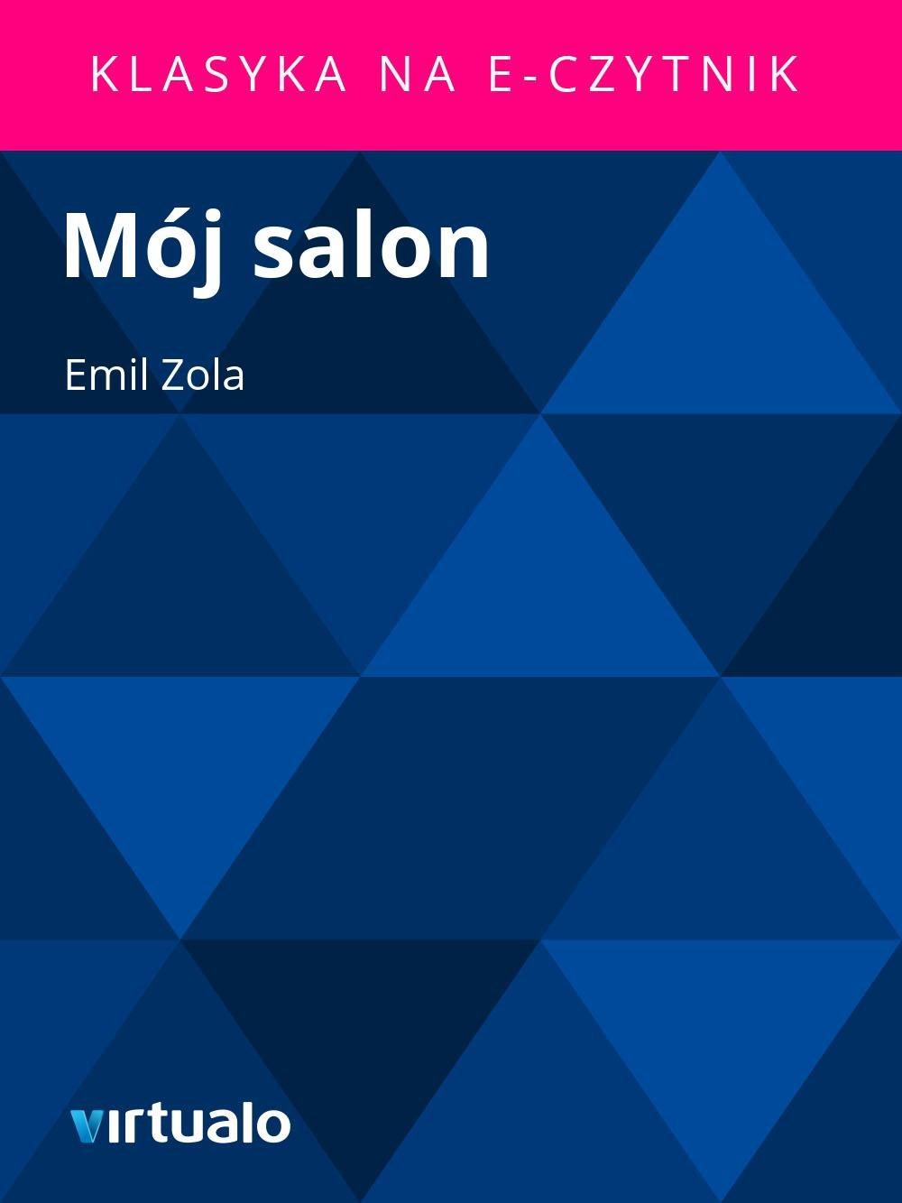 Mój salon - Ebook (Książka EPUB) do pobrania w formacie EPUB
