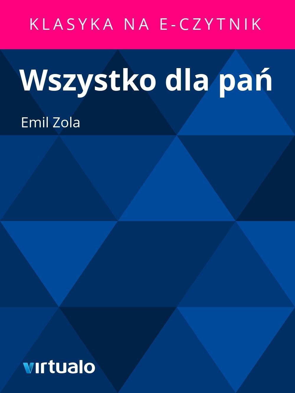 Wszystko dla pań - Ebook (Książka EPUB) do pobrania w formacie EPUB