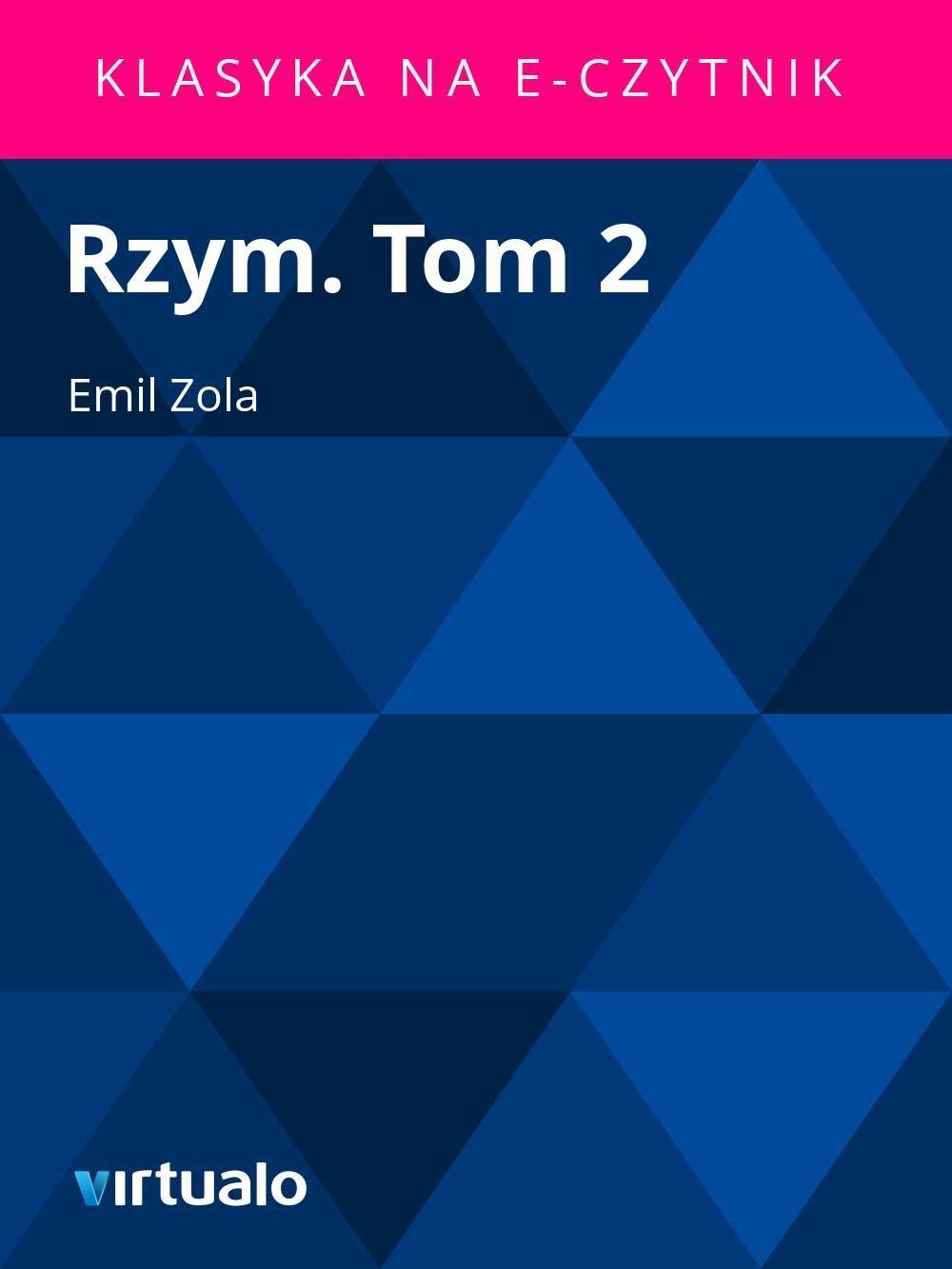 Rzym. Tom 2 - Ebook (Książka EPUB) do pobrania w formacie EPUB