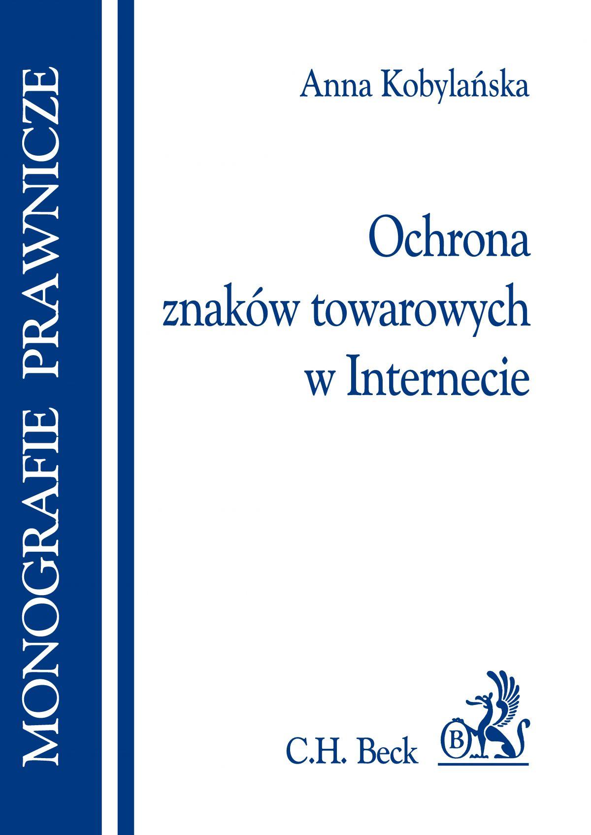 Ochrona znaków towarowych w Internecie - Ebook (Książka PDF) do pobrania w formacie PDF