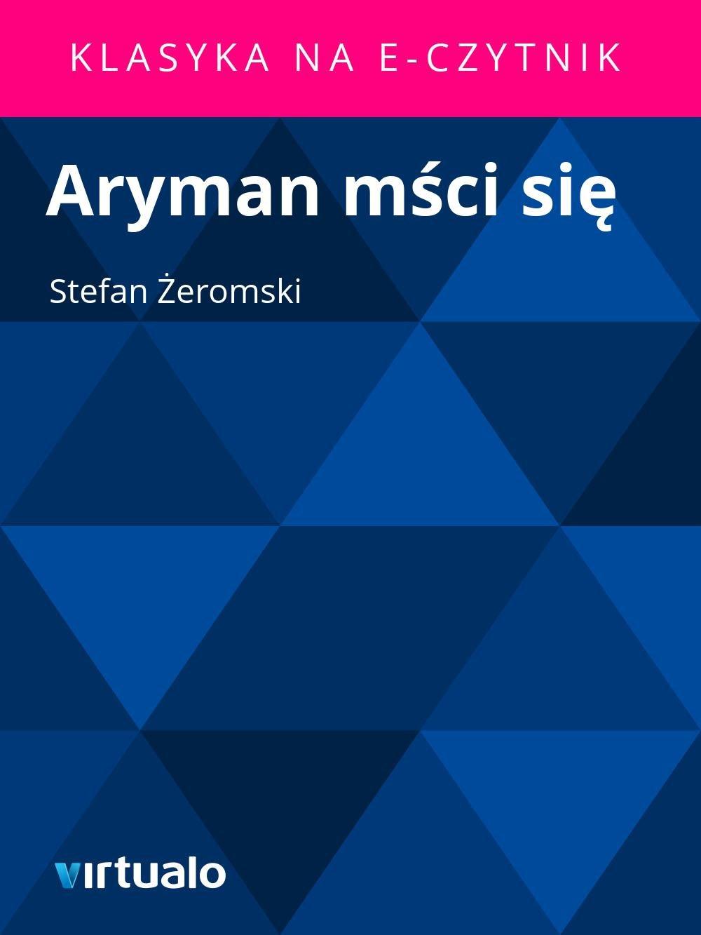 Aryman mści się - Ebook (Książka EPUB) do pobrania w formacie EPUB
