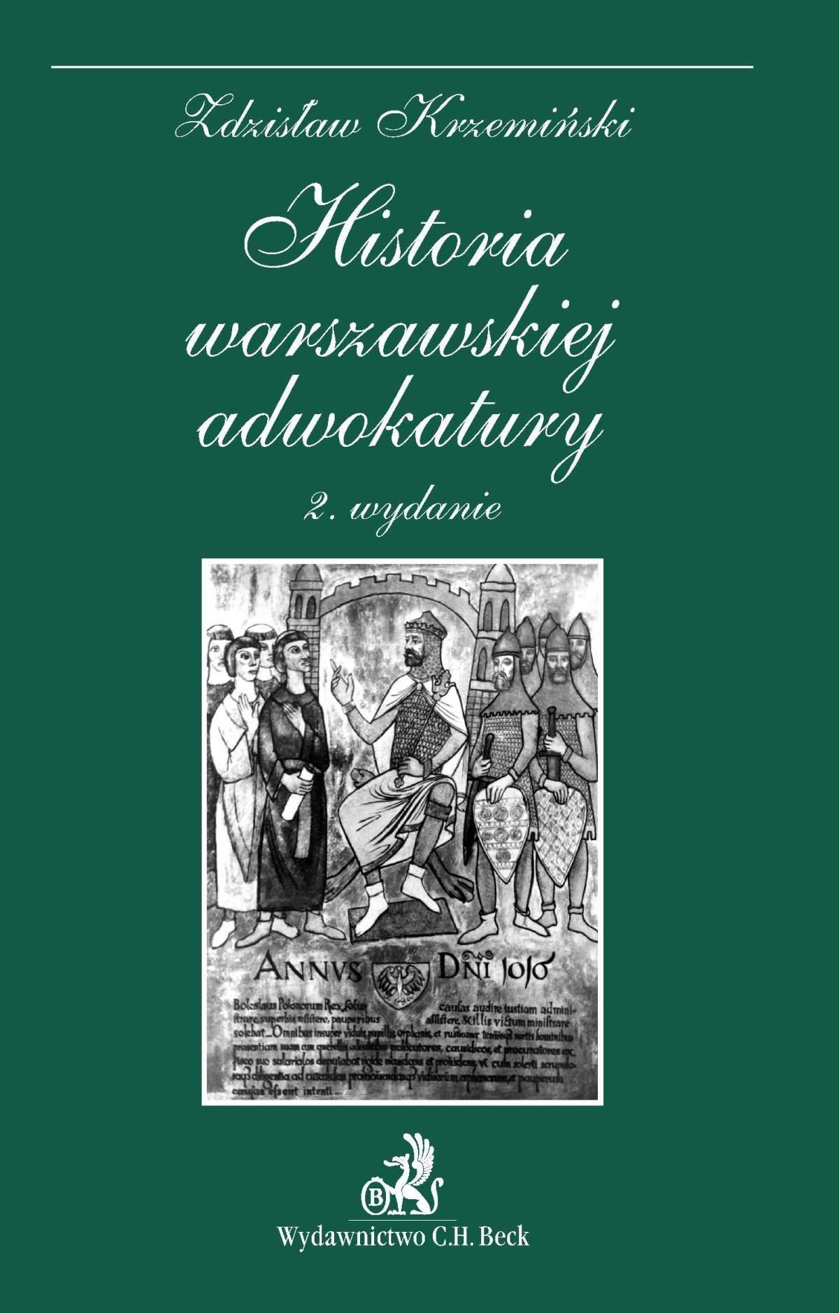Historia warszawskiej adwokatury - Ebook (Książka PDF) do pobrania w formacie PDF