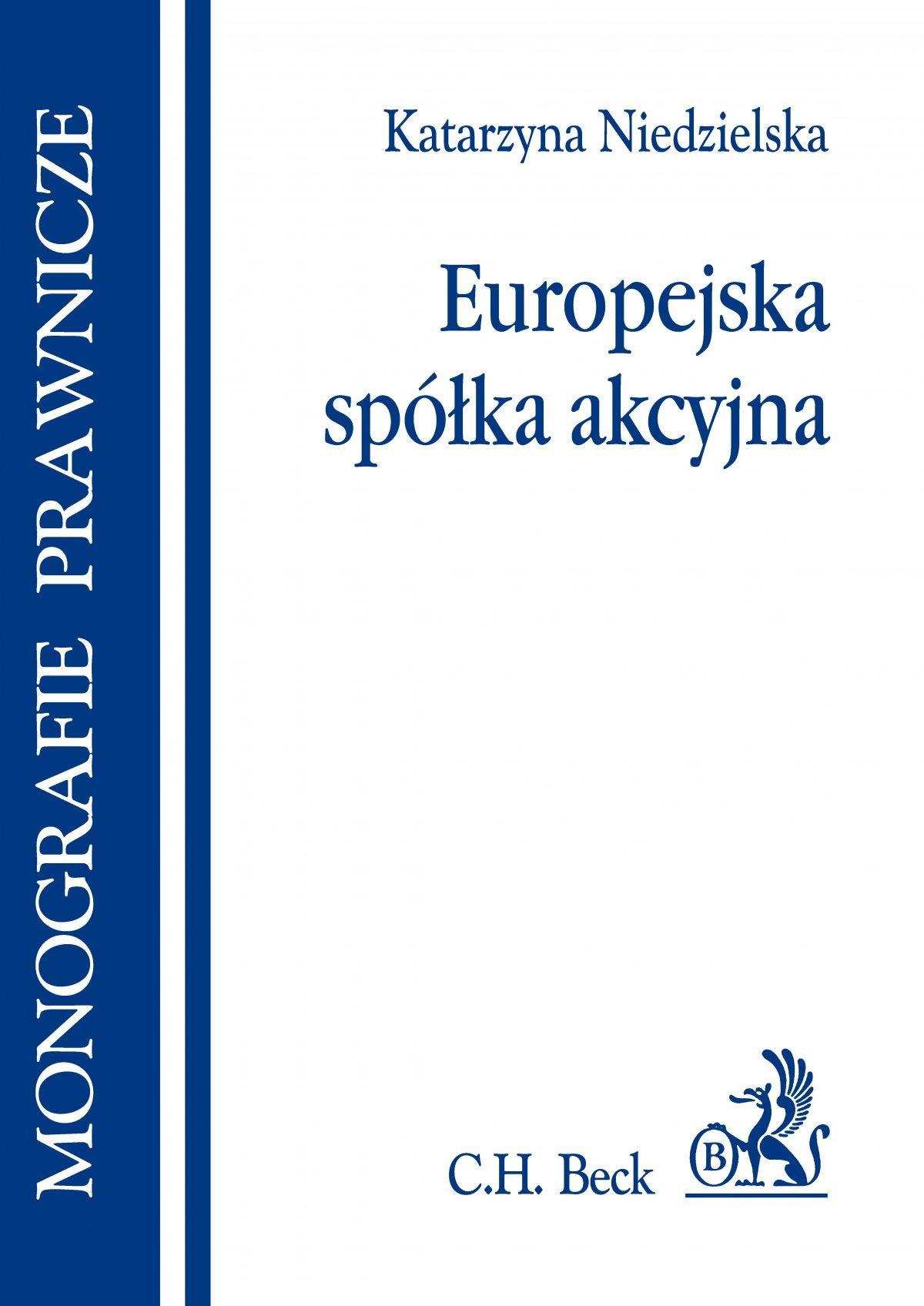 Europejska spółka akcyjna - Ebook (Książka PDF) do pobrania w formacie PDF
