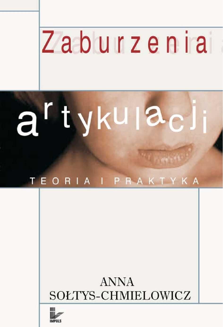 Zaburzenia artykulacji - Ebook (Książka PDF) do pobrania w formacie PDF