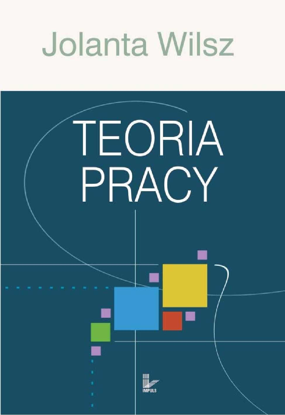 Teoria pracy - Ebook (Książka PDF) do pobrania w formacie PDF