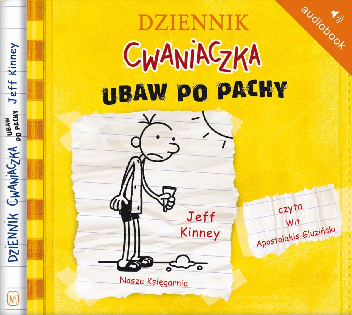 Dziennik cwaniaczka 4. Ubaw po pachy - Audiobook (Książka audio MP3) do pobrania w całości w archiwum ZIP