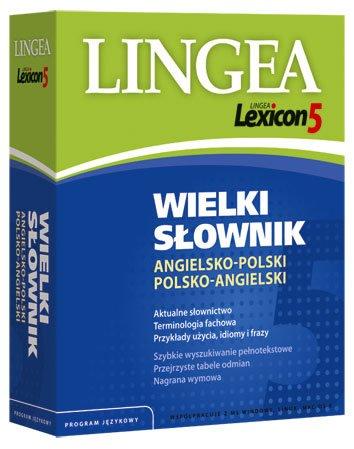 Lingea Lexicon 5 Wielki słownik angielsko-polski i polsko-angielski - Aplikacja do pobrania