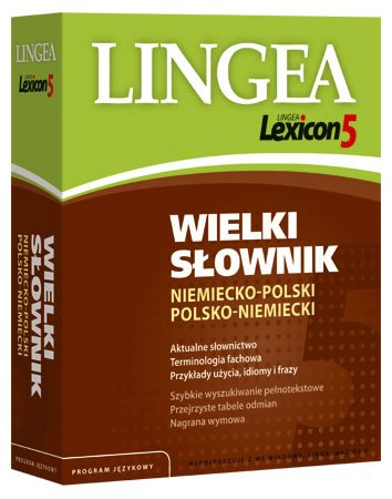 Lingea Lexicon 5 Wielki słownik niemiecko-polski i polsko-niemiecki - Aplikacja do pobrania