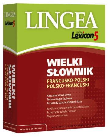 Lingea Lexicon 5 Wielki słownik francusko-polski i polsko-francuski - Aplikacja do pobrania
