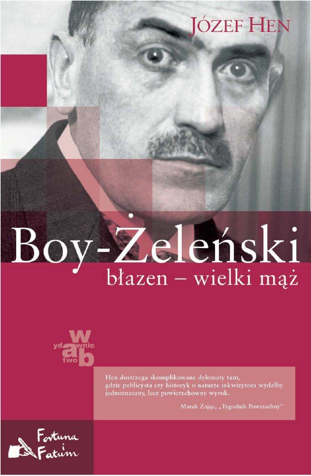 Boy-Żeleński. Błazen - wielki mąż - Ebook (Książka EPUB) do pobrania w formacie EPUB