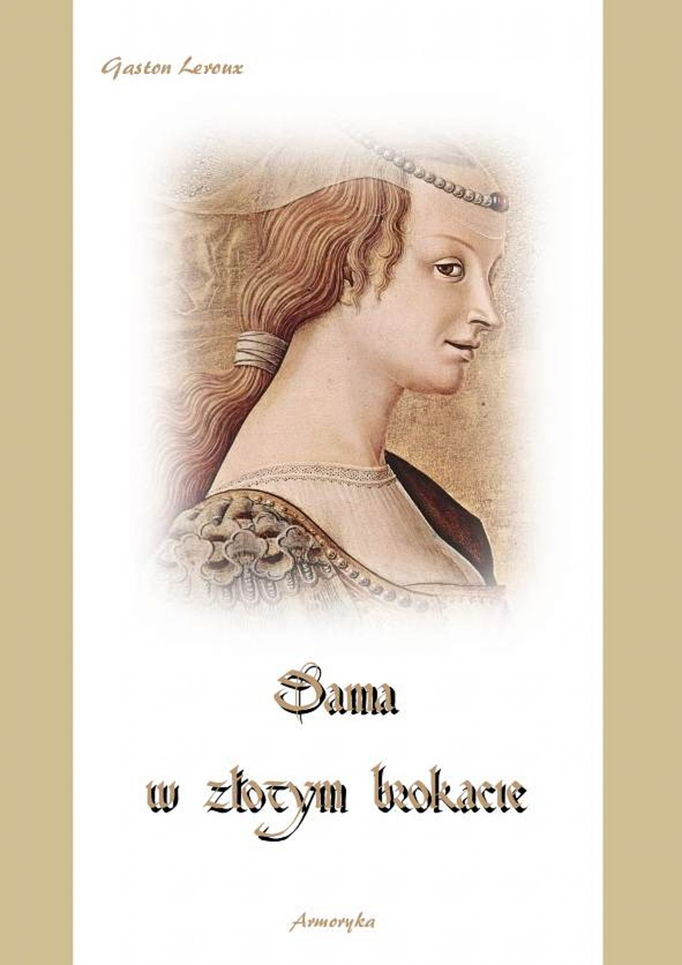 Dama w złotym brokacie - Ebook (Książka EPUB) do pobrania w formacie EPUB