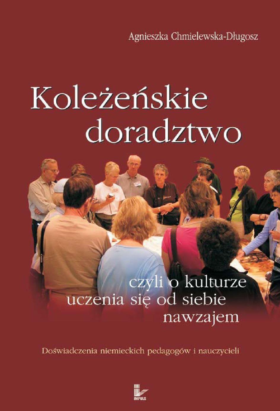 Koleżeńskie doradztwo, czyli o kulturze uczenia się od siebie nawzajem - Ebook (Książka EPUB) do pobrania w formacie EPUB