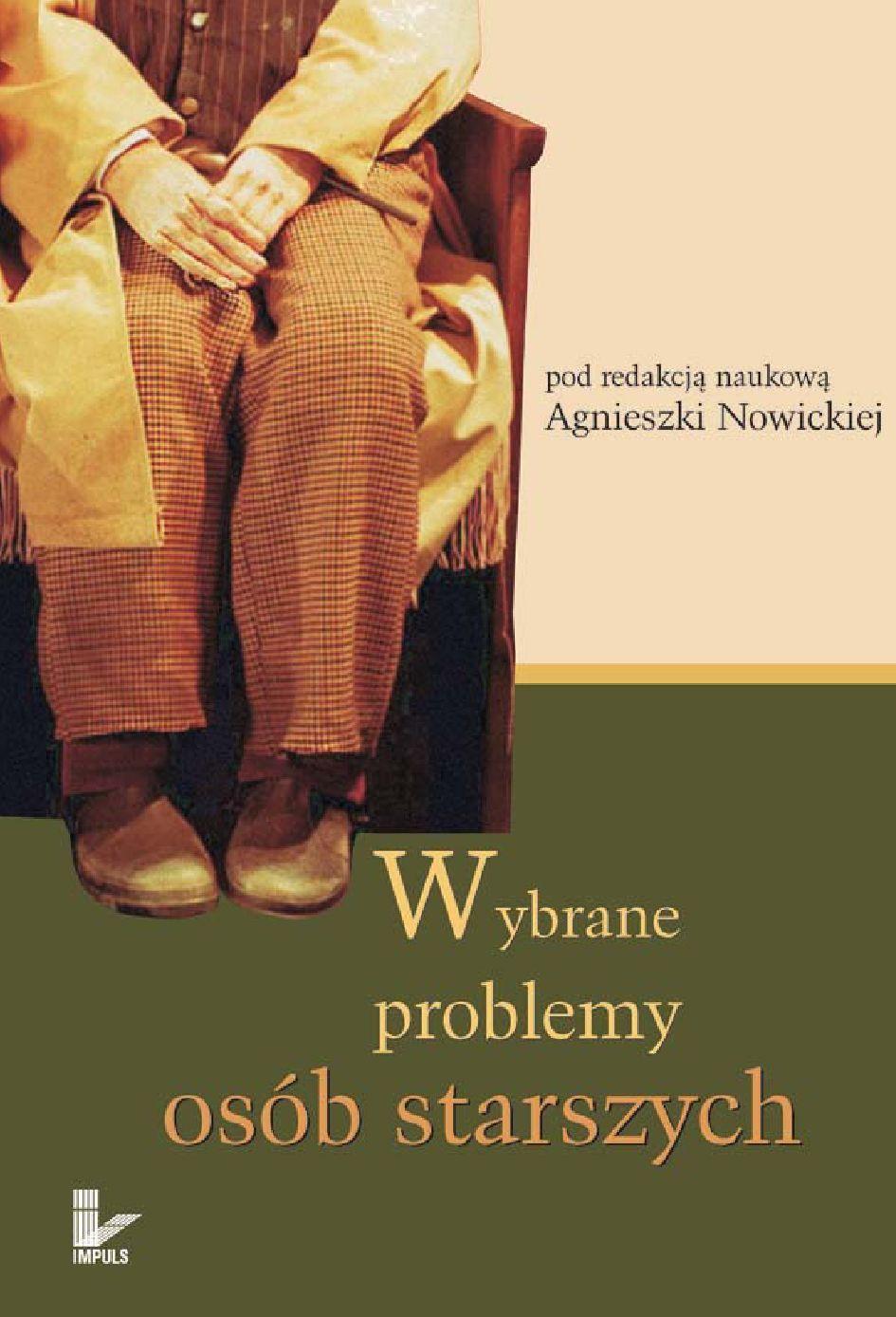 Wybrane problemy osób starszych - Ebook (Książka EPUB) do pobrania w formacie EPUB