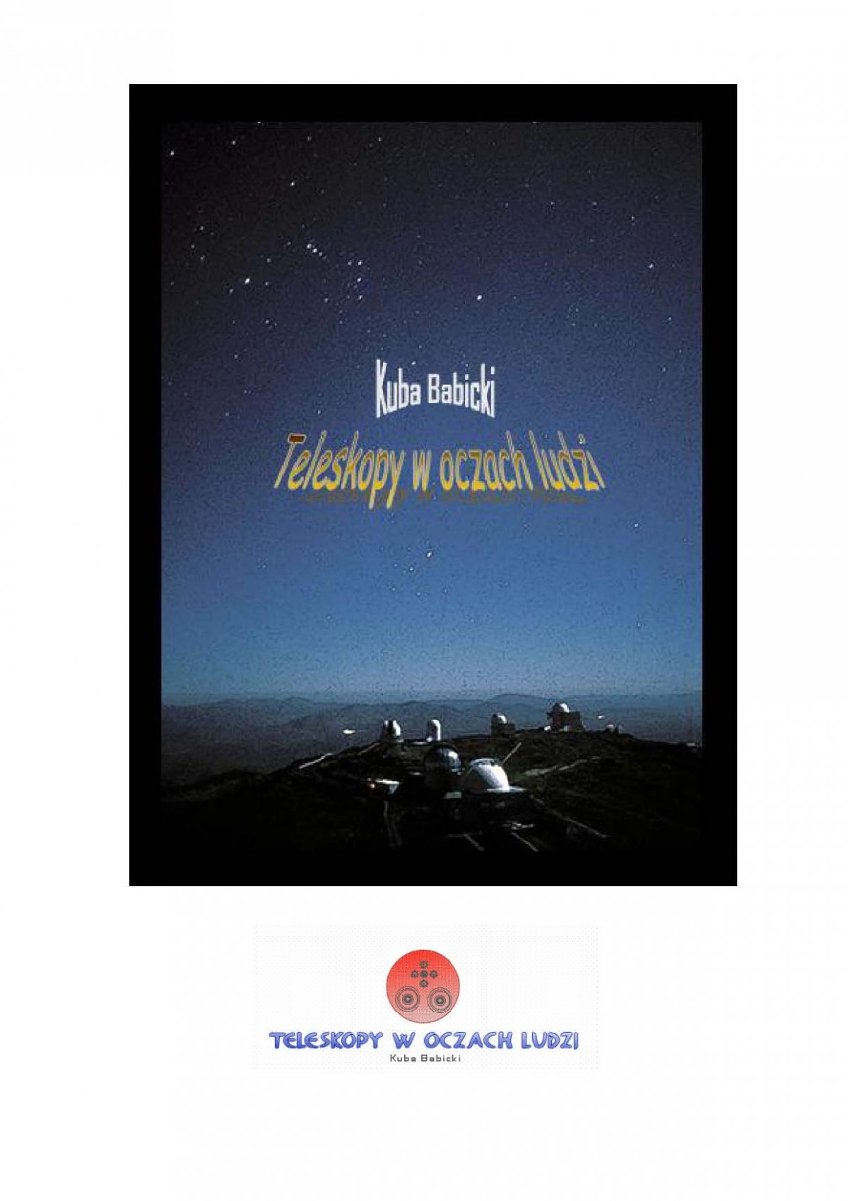 Teleskopy w oczach ludzi - Ebook (Książka EPUB) do pobrania w formacie EPUB