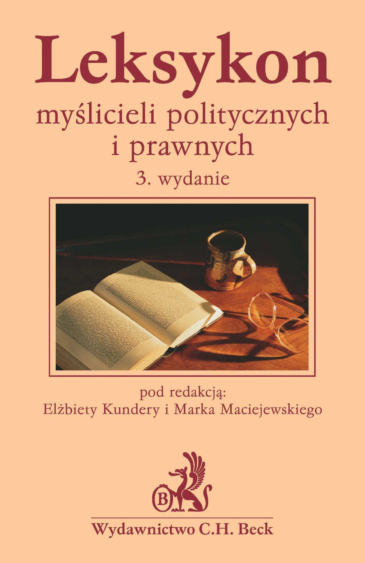 Leksykon myślicieli politycznych i prawnych - Ebook (Książka PDF) do pobrania w formacie PDF