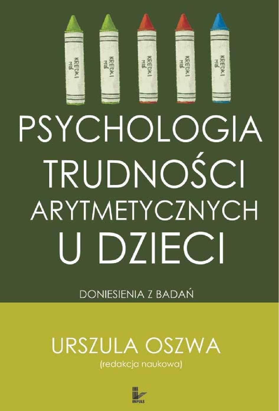 Psychologia trudności arytmetycznych u dzieci - Ebook (Książka EPUB) do pobrania w formacie EPUB