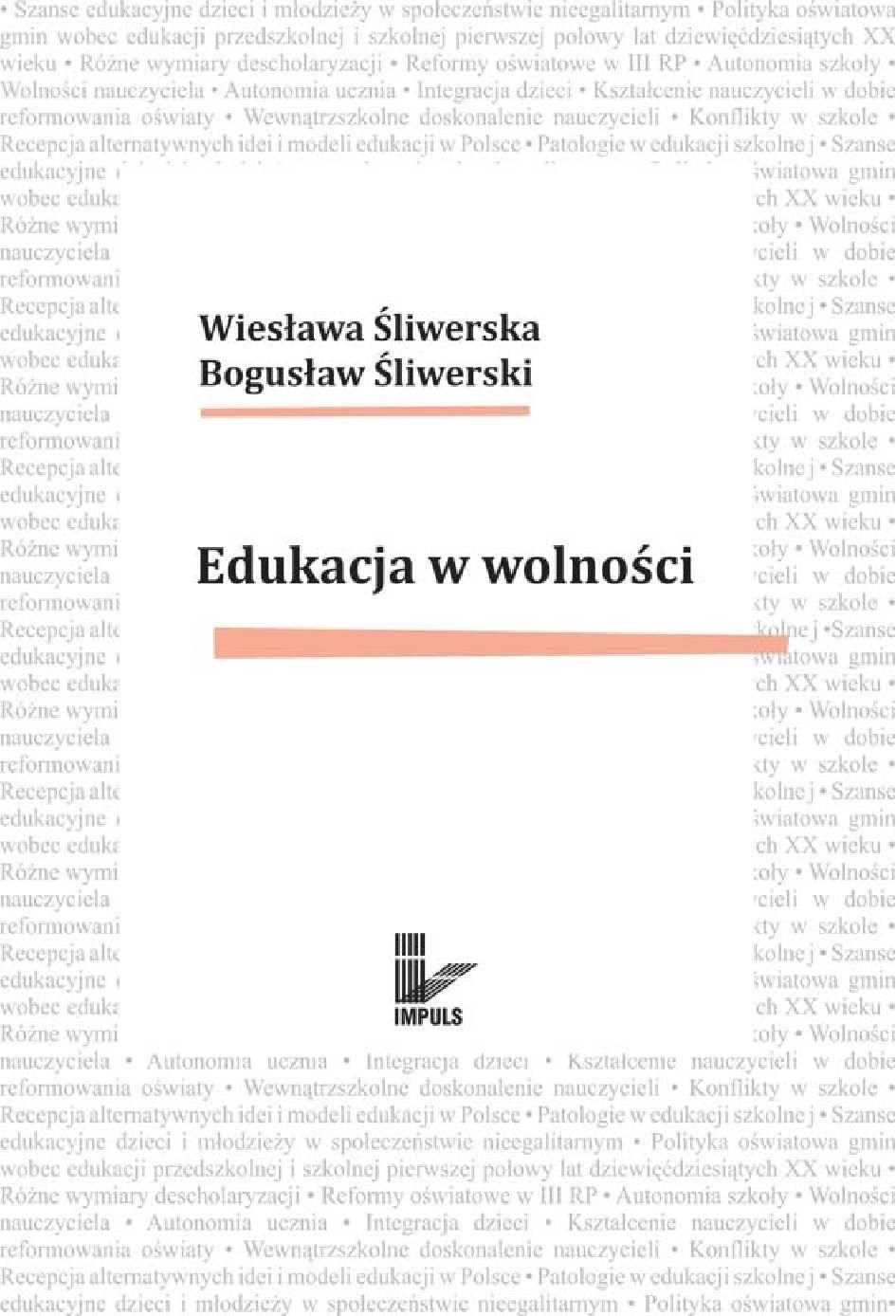 Edukacja w wolności - Ebook (Książka EPUB) do pobrania w formacie EPUB