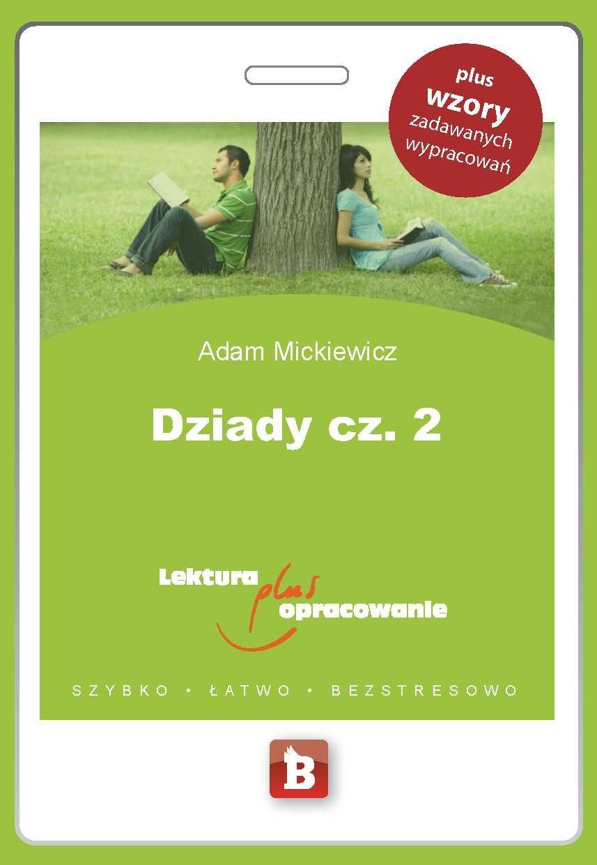 Dziady. Część 2 - Ebook (Książka PDF) do pobrania w formacie PDF