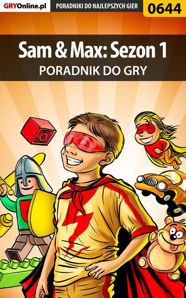 Sam  Max: Sezon 1 - poradnik do gry - Ebook (Książka PDF) do pobrania w formacie PDF