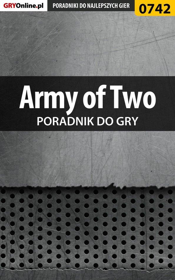 Army of Two - poradnik do gry - Ebook (Książka PDF) do pobrania w formacie PDF