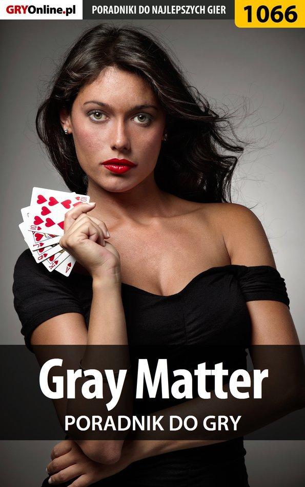 Gray Matter - poradnik do gry - Ebook (Książka PDF) do pobrania w formacie PDF