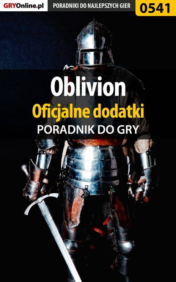 Oblivion - oficjalne dodatki - poradnik do gry - Ebook (Książka PDF) do pobrania w formacie PDF