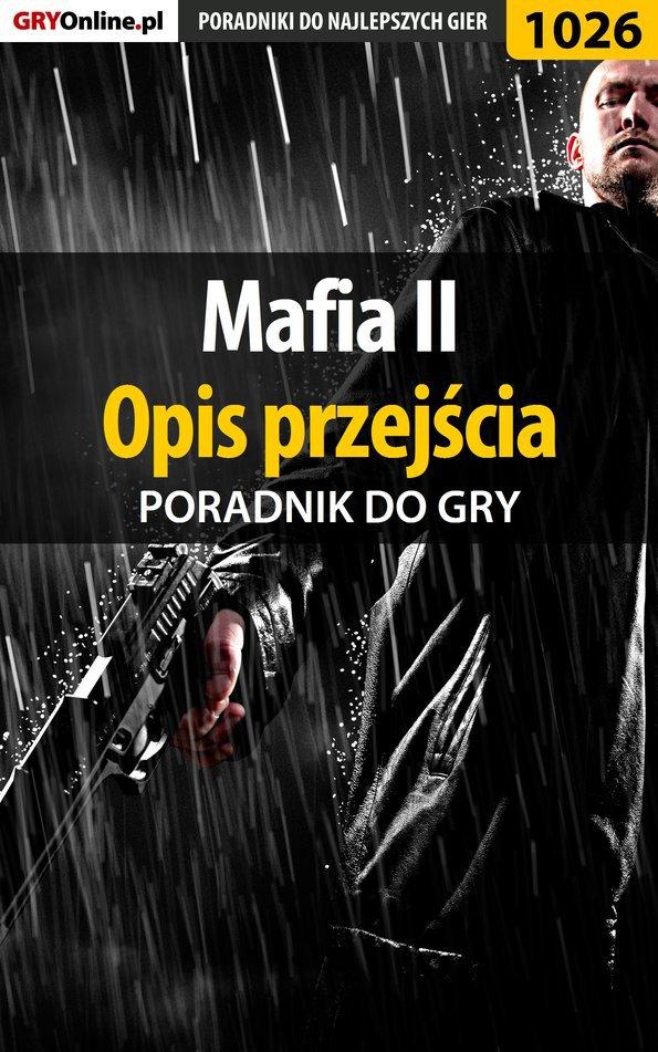 Mafia II - opis przejścia - poradnik do gry - Ebook (Książka PDF) do pobrania w formacie PDF