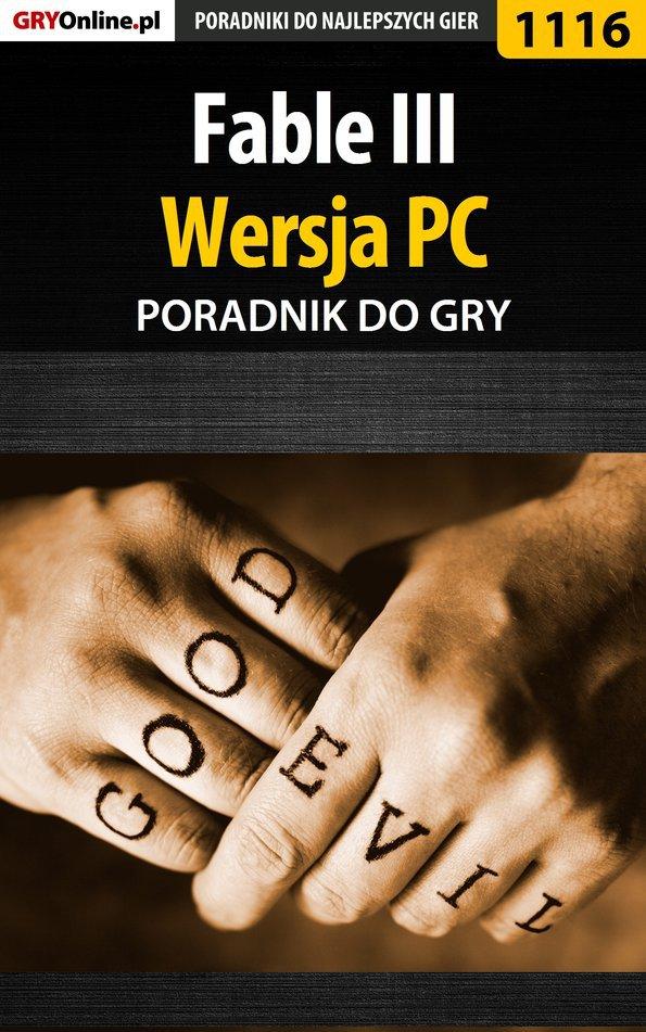 Fable III - PC - poradnik do gry - Ebook (Książka PDF) do pobrania w formacie PDF