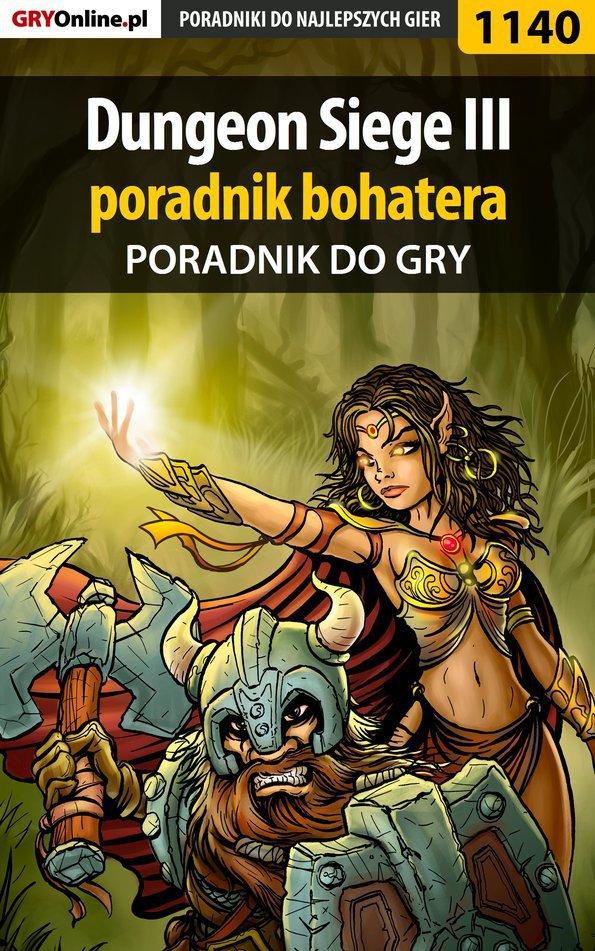 Dungeon Siege III - poradnik bohatera - Ebook (Książka PDF) do pobrania w formacie PDF