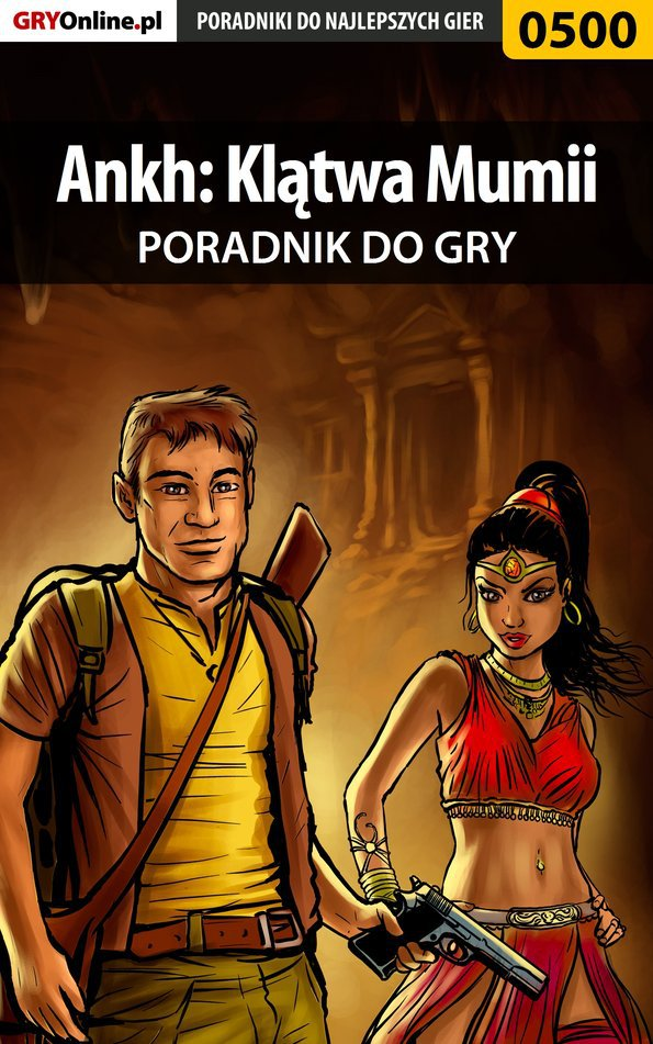 Ankh: Klątwa Mumii - poradnik do gry - Ebook (Książka PDF) do pobrania w formacie PDF