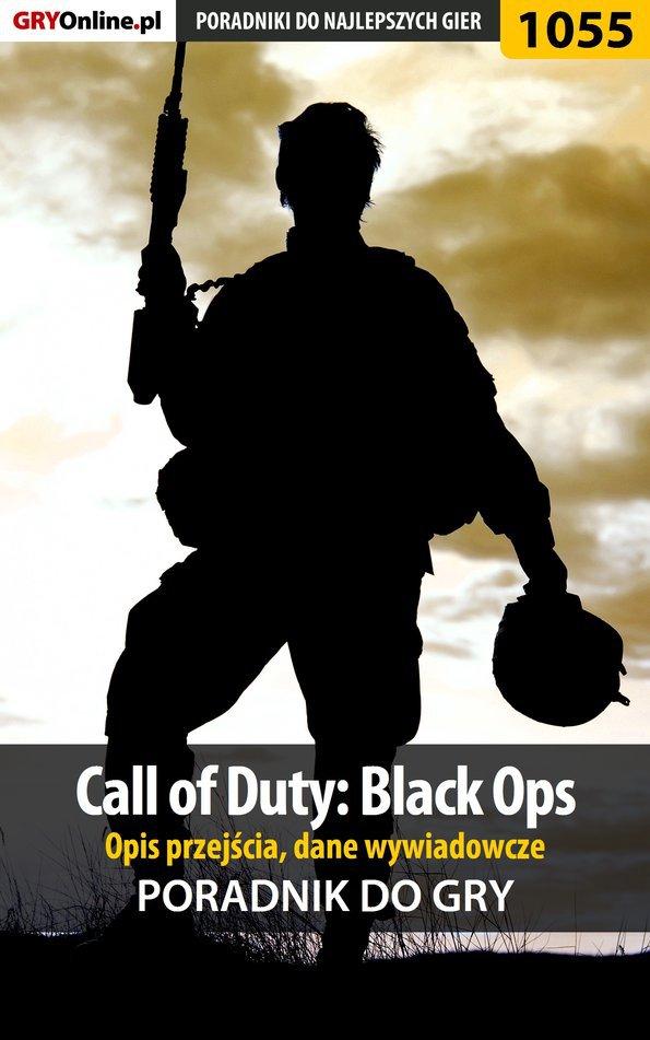 Call of Duty: Black Ops - opis przejścia, dane wywiadowcze - poradnik do gry - Ebook (Książka PDF) do pobrania w formacie PDF