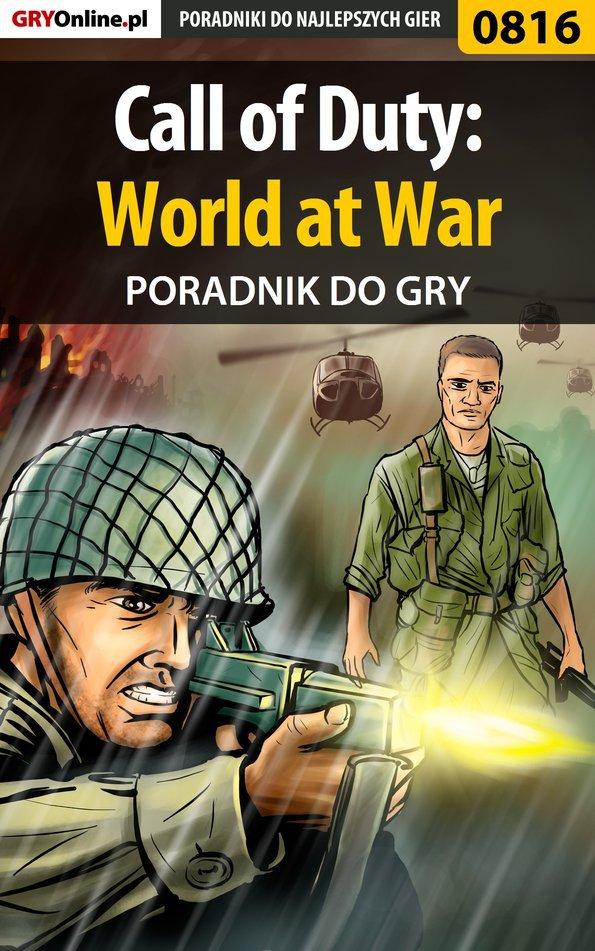 Call of Duty: World at War - poradnik do gry - Ebook (Książka PDF) do pobrania w formacie PDF